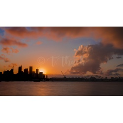 Sunset at Rushcutters Bay, New South Wales by Digital Bay